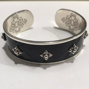 Brighton Black Bangle